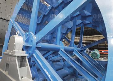 轮式洗砂机结构原理