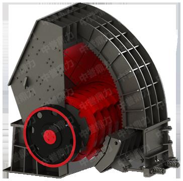 电机带动转子在破碎腔内高速旋转,物料自上部给料口给入机内,受高速