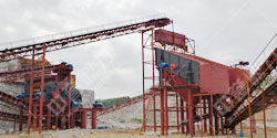 广西柳州时产800吨砂石生产线