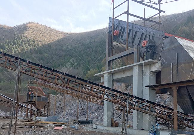 河南500石料破碎生产线