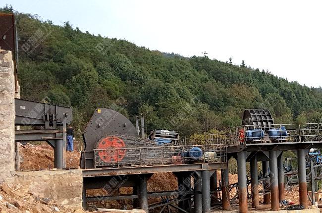 湖南石头破碎生产线