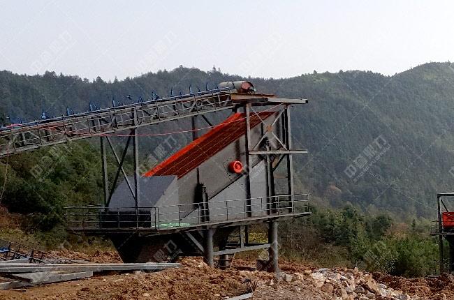 醴陵碎石生产线