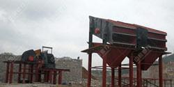 广西柳州砂石厂时产800吨沙
