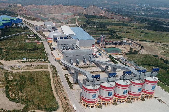 禹州鑫利祥建材年产1000万吨环保骨料生产线