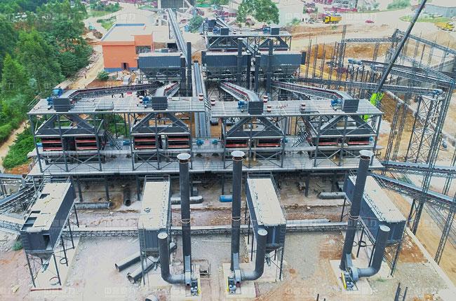 南宁市福松建材通润采石场时产1500-2000吨生产线