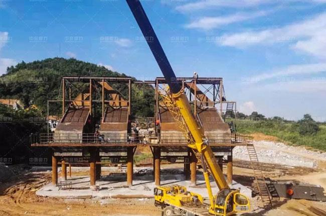 江西省宜春市安顺建材新建年产500万吨环保砂石骨料生产线