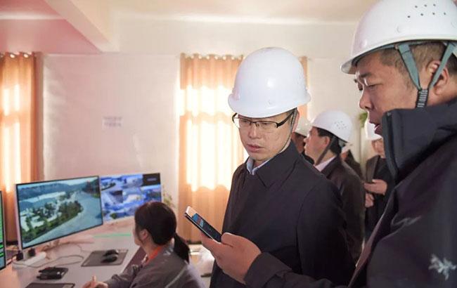 贵州铜仁环保局局长樊晓勇一行莅临中誉鼎力考察调研