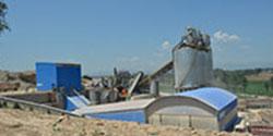 内蒙古多伦时产800吨石料厂生产