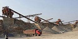 浙江湖州时产1200吨石子生产线配