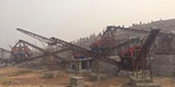 云南文山时产1000吨大型石料厂生