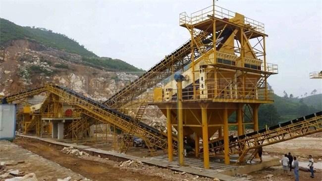 贵州搅拌站时产1400吨砂石生产线