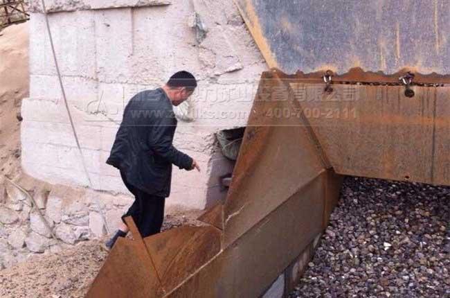 甘肃兰州时产500吨石料生产线成品料堆