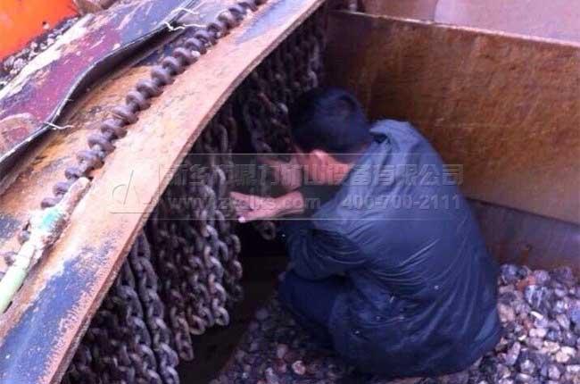 甘肃兰州双墩时产500吨石料生产线