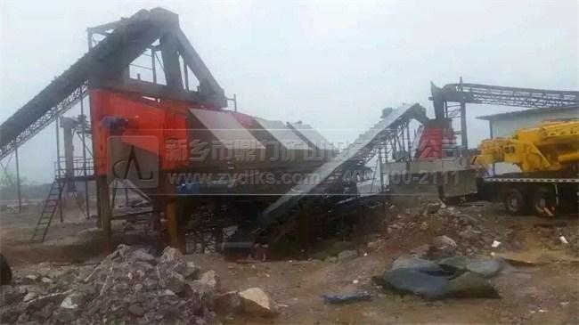 安徽凤阳时产1200吨石料生产线