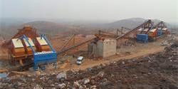 安徽淮北时产1500吨大型磕石厂生