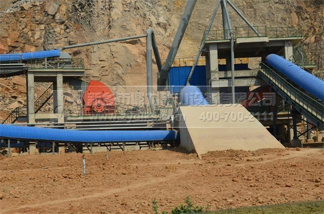时产600吨节能环保砂石生产线
