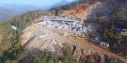 凉山州西昌马鞍山石料生产线