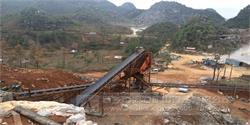 广西河池沸腾石场时产160吨石料