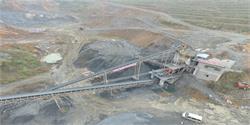 湖南邵阳阳光采石场时产500吨石
