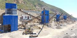 平顶山双隆时产600吨全封闭石料