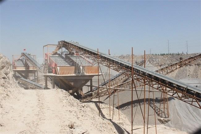砂石生产线建设者