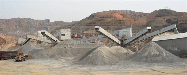 低投资高收益砂石骨料生产线