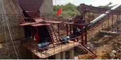 湖南永州意达采石场日产2500