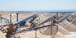 宁夏时产500-800吨碎石生产线设