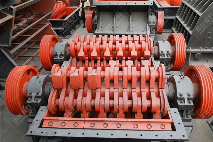 锤式制砂机内部结构