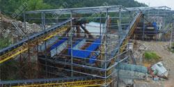湖南时产1000吨大型碎石场生