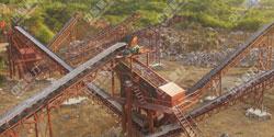 湖南永州意达采石场时产200