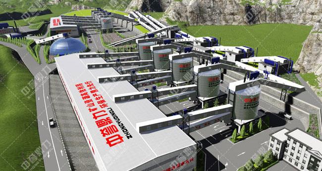 卫辉市天然资源有限公司时产3000吨骨料生产线