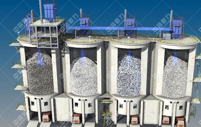 卫辉市天然资源有限公司时产3000吨骨料生产线料位检测