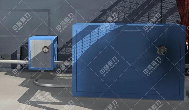 卫辉市天然资源有限公司时产3000吨骨料生产线自动润滑