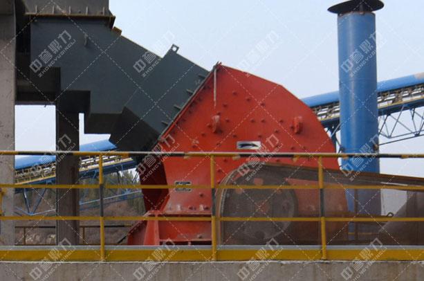 安阳中联水泥时产1500吨骨料生产线二破