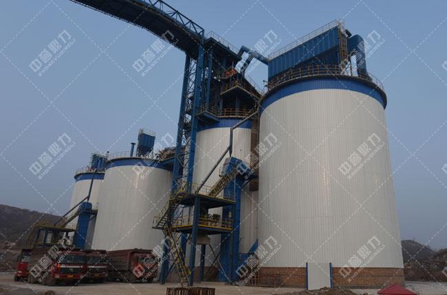 安阳中联水泥时产1500吨骨料生产成品密封