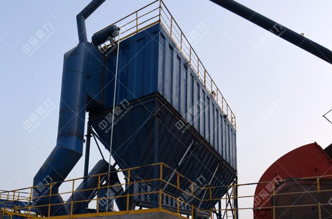安阳中联水泥时产1500吨骨料生产线初破除尘