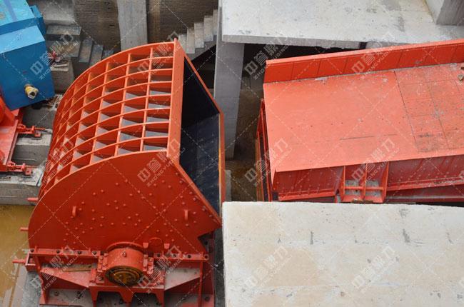 河北白沙时产3000吨石料生产线头破