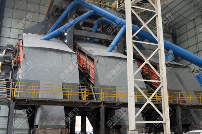 河北白沙时产3000吨石料生产线筛分