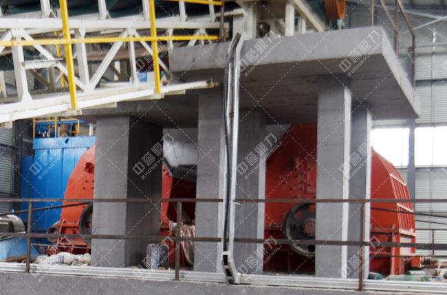 河北白沙时产3000吨石料生产线二级破碎