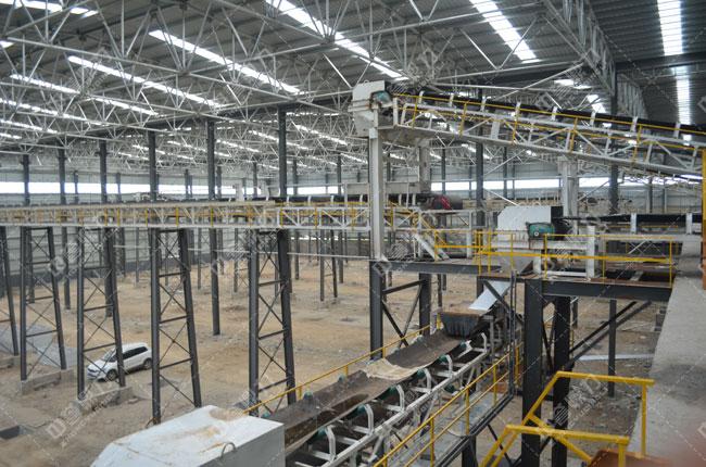 河北白沙时产3000吨石料生产线布料机