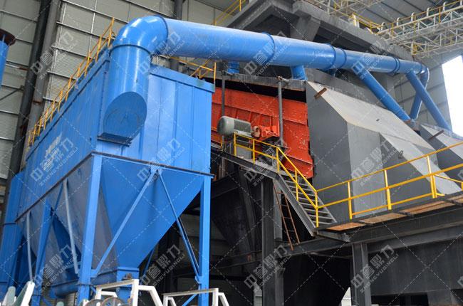 河北白沙时产3000吨石料生产线筛分除尘