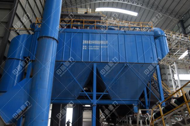 河北白沙时产3000吨石料生产线输送除尘