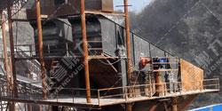 湖北宜昌鸿涛采石场时产700吨砂