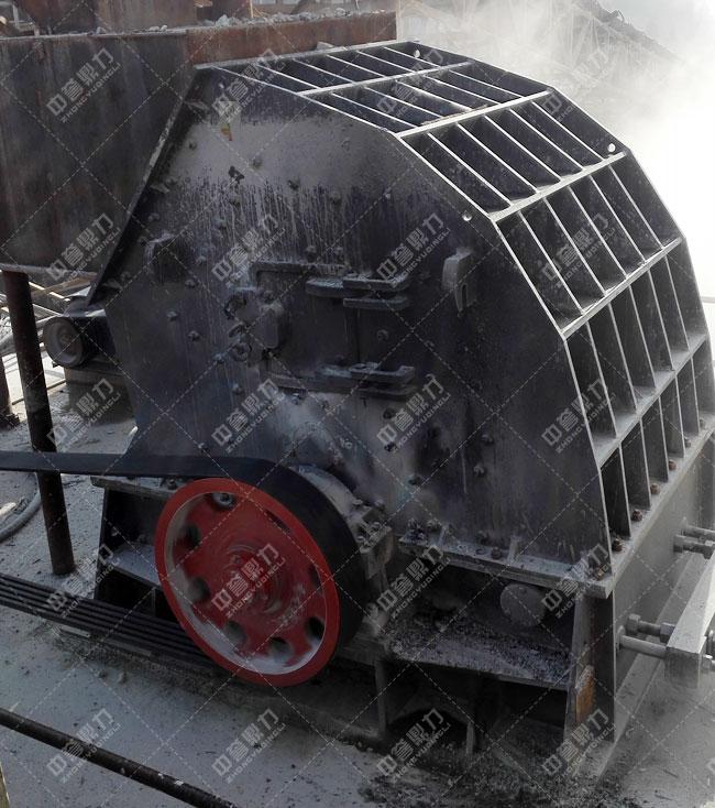 湖北宜昌鸿涛采石场时产700吨砂石生产线粗碎