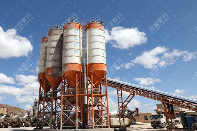 凉山州盐源县世宇混凝土时产800吨骨料生产线