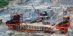 河北中普建材时产800-1000吨石料