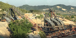 山西潞城远东采石厂破碎制砂生产