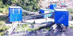 陕西安康时产600-800吨环保石渣