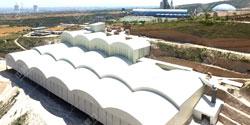 铜川市金梧桐矿业时产600-800吨